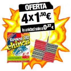 Traca Chinos (4 paquetes)