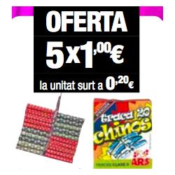 Traca Chinos (5 paquetes)