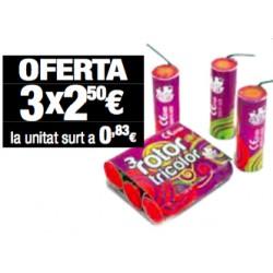 Tubo Rosa (3 paquetes)