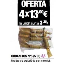 Cubanitos nº5  (4 bolsas)