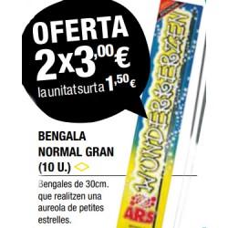 Bengala Normal Grande (2 paquetes)